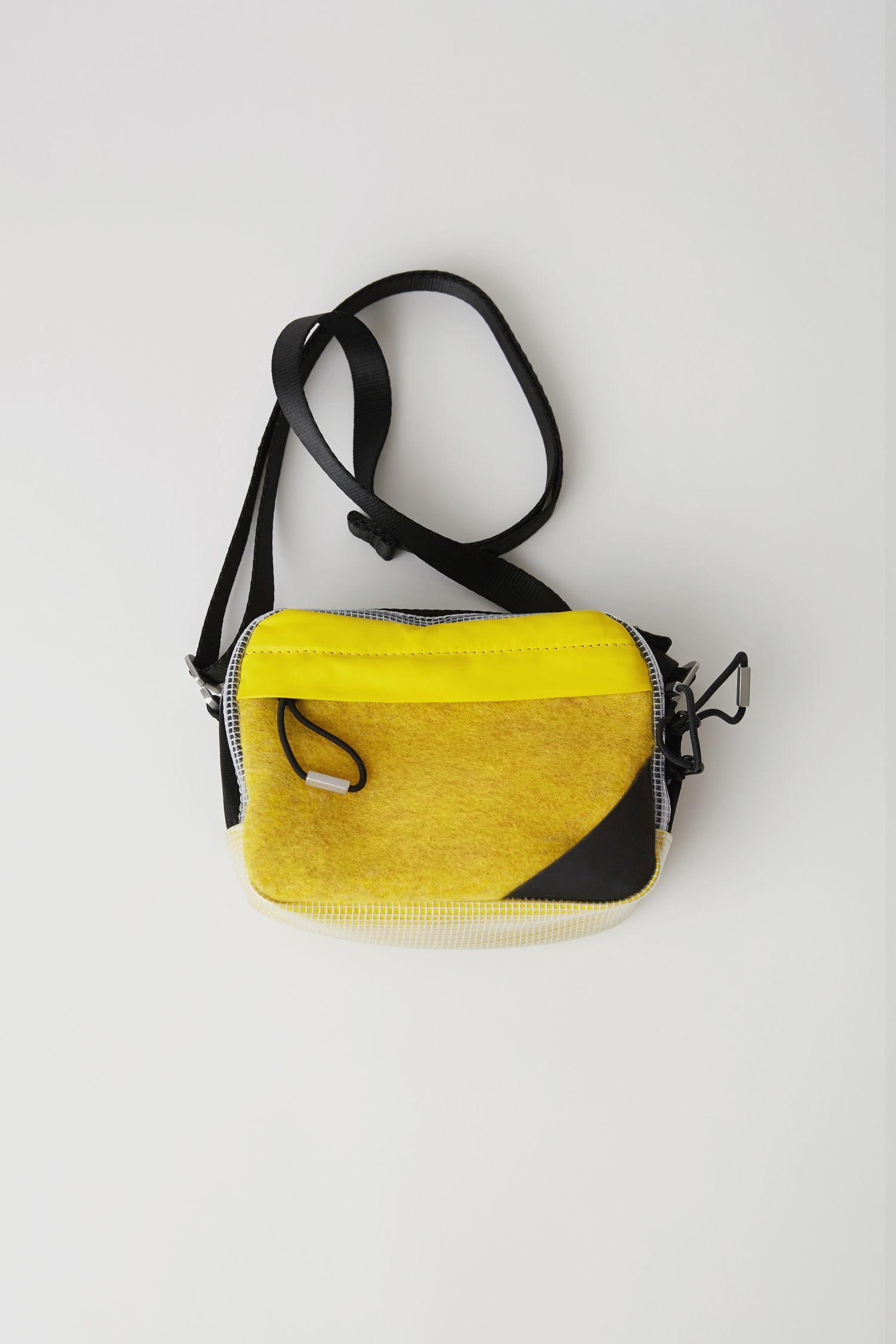 f7e4334a0a Acne Studios Yellow Small Hidey Camera Bag