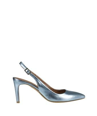 Essentiel Antwerp Essentiel Women's  Light Blue Leather Pumps