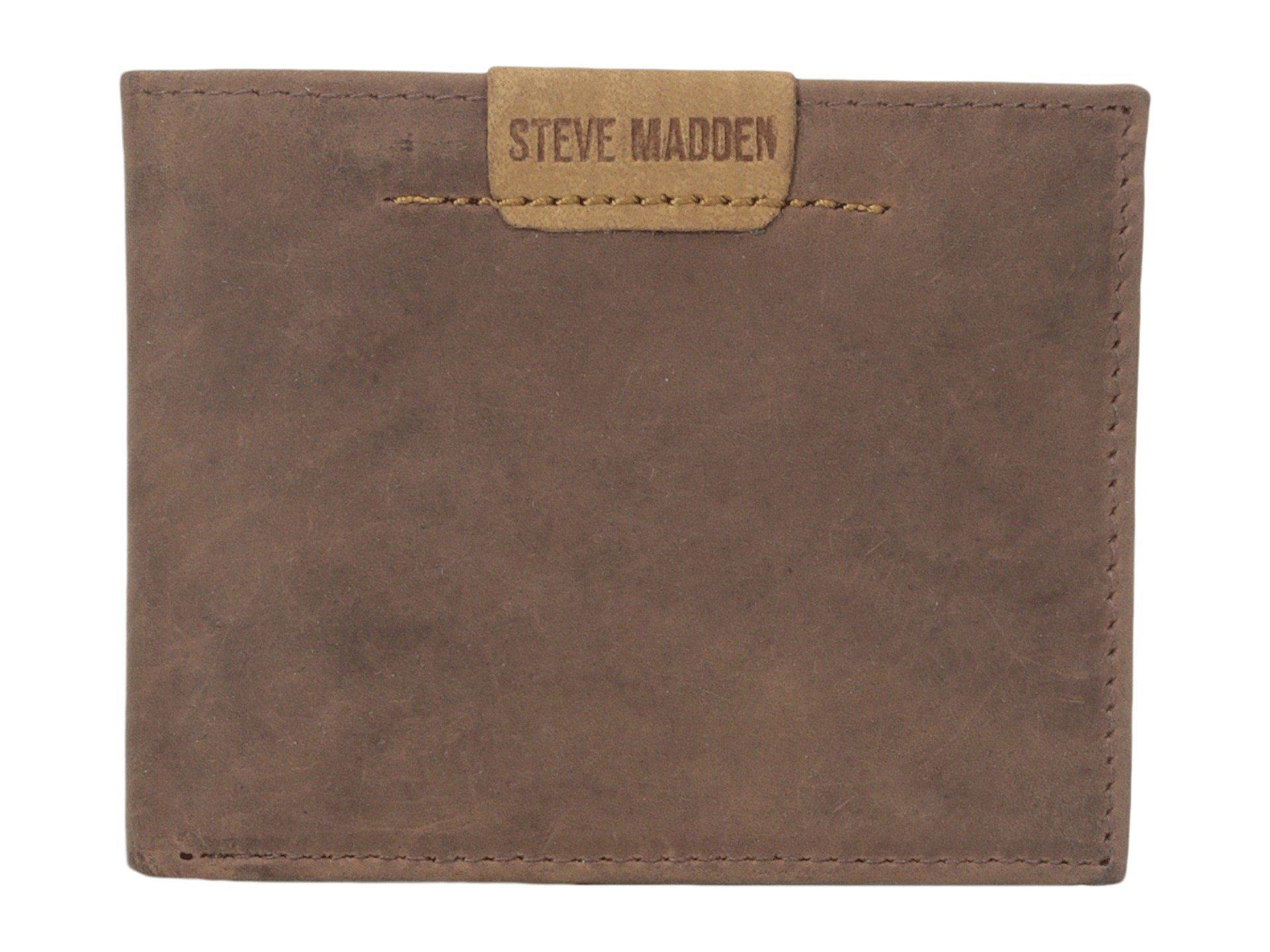 e244f8584e1 Steve Madden Dakota Leather Passcase Wallet In Brown | ModeSens