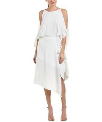Elliatt Shift Dress In White