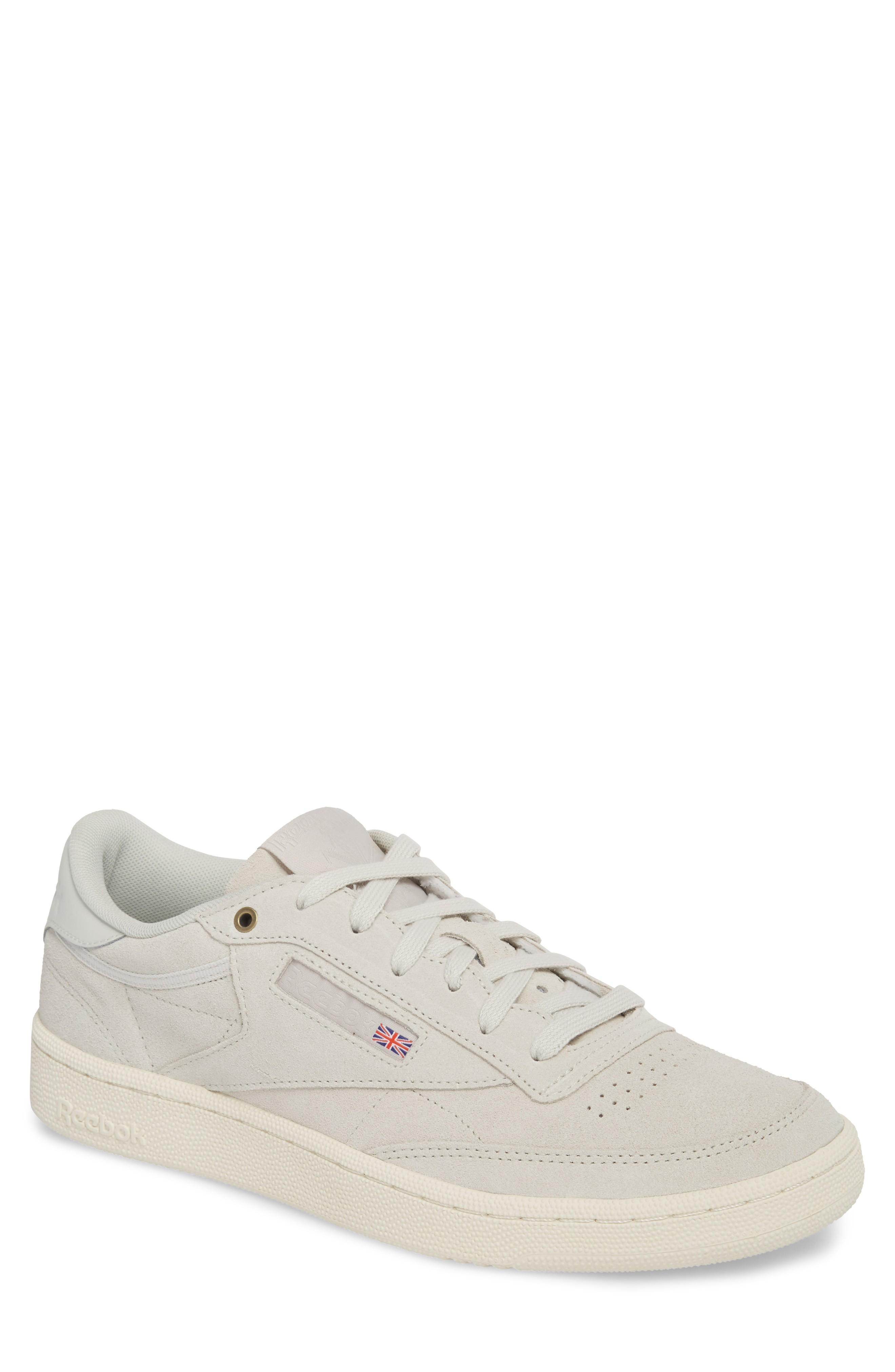 2d7a2992d2f ... cutout logo window detail the side of a sneaker styled for sporty-casual  versatility with a low top and a textured cupsole. Style Name  Reebok Club  C 85 ...