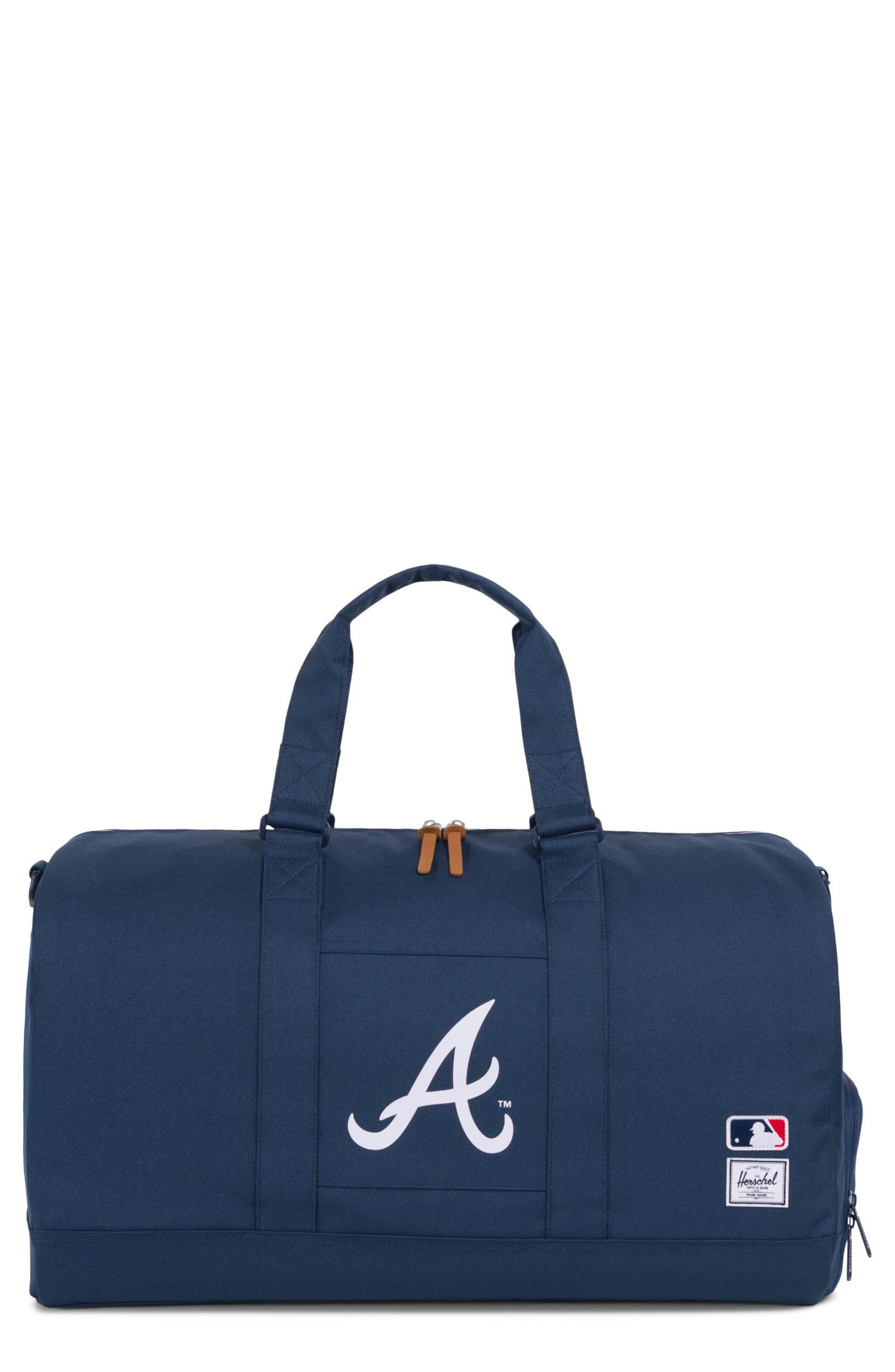 44d63062f9 Herschel Supply Co. Novel - Mlb National League Duffel Bag - Blue In  Atlanta Braves