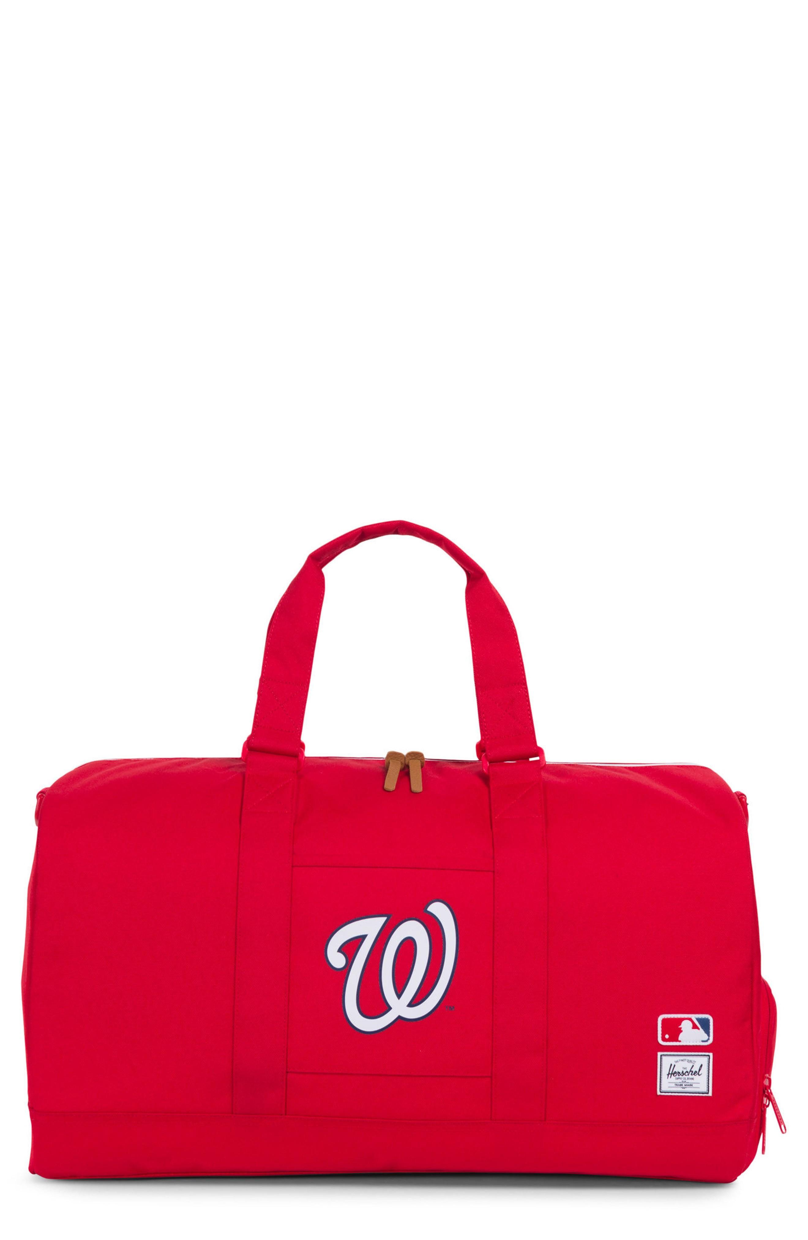 970793e274 Herschel Supply Co. Novel - Mlb National League Duffel Bag - Red In ...