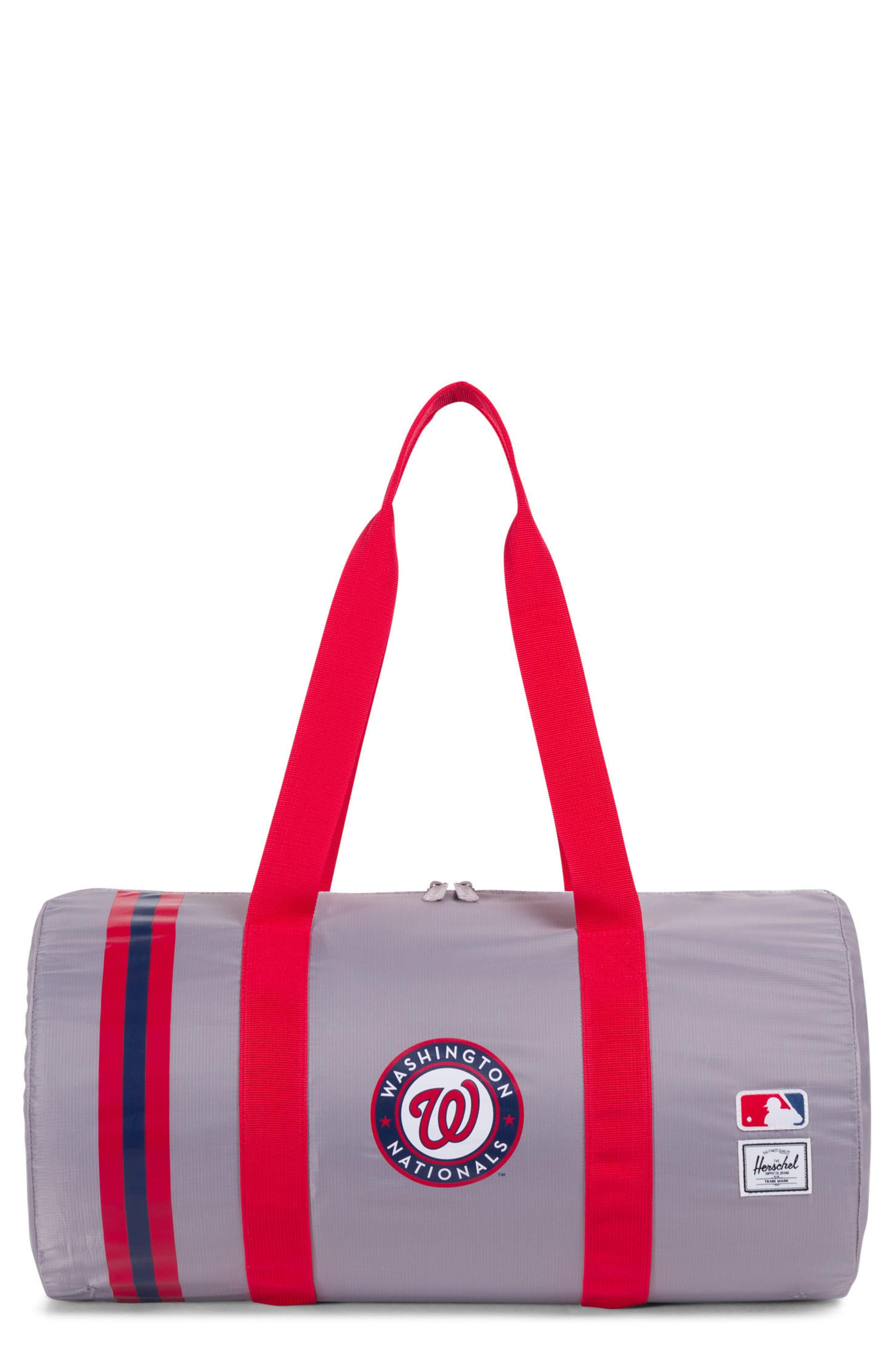 03cfd49580 An ultra-light ripstop duffel bag is the perfect companion for the gym or  fielding practice