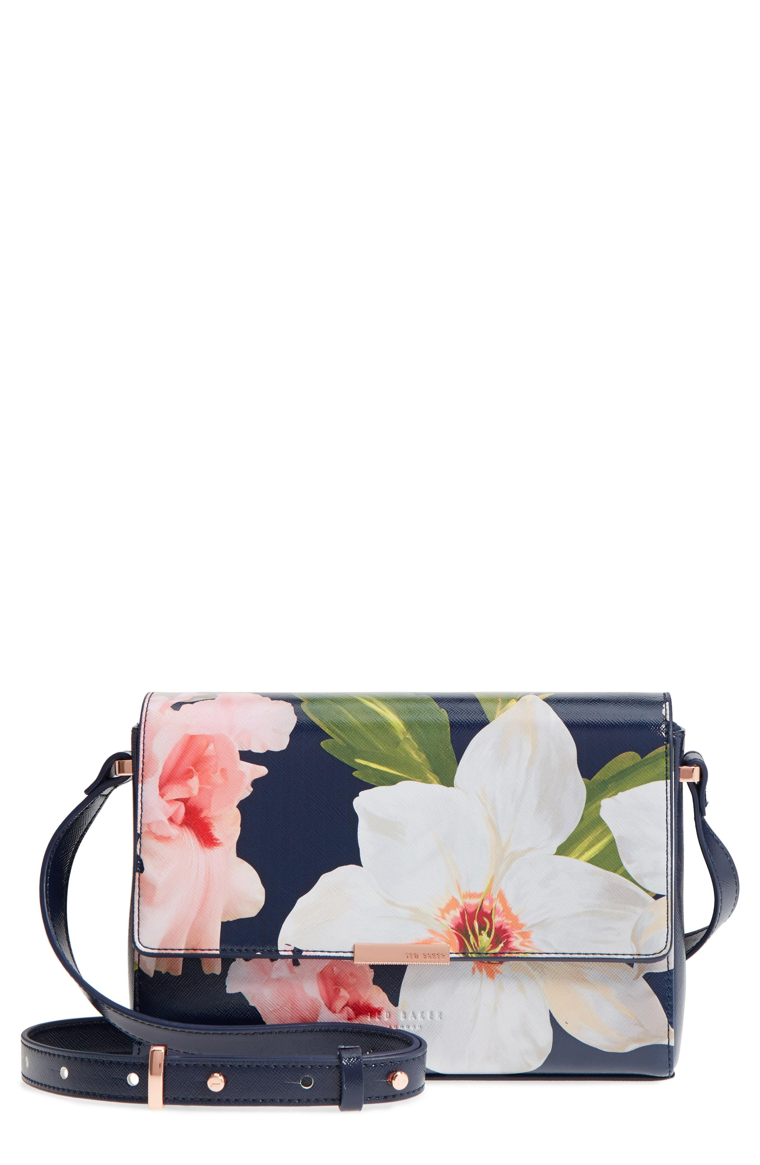 Style Name  Ted Baker London Prim Chatsworth Bloom Faux Leather Crossbody  Bag. Style Number  5551669. 33a0424caabd0
