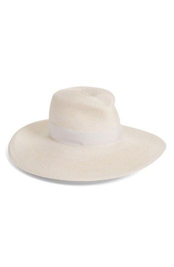 54505a6921b94 Eric Javits  Daphne  Broad Brim Fedora - Ivory In Cream