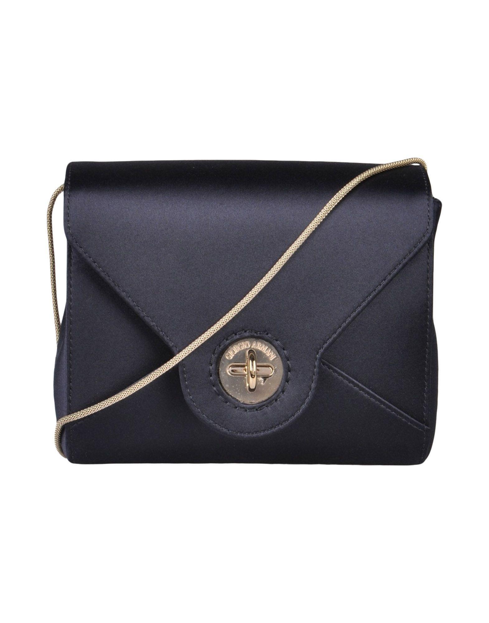 Giorgio Armani Handbags In Dark Blue