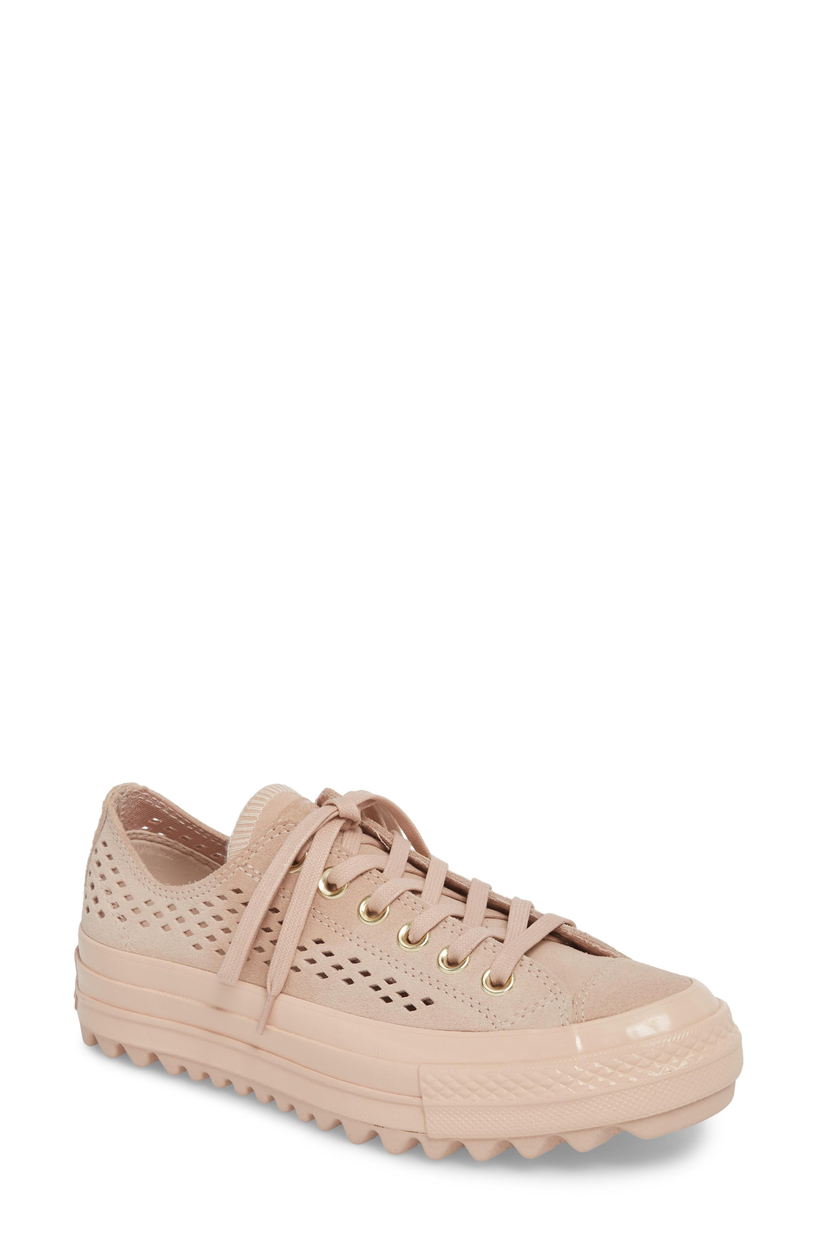 632800c938d6 Converse Chuck Taylor All Star Lift Ripple Sneaker In Particle Beige ...