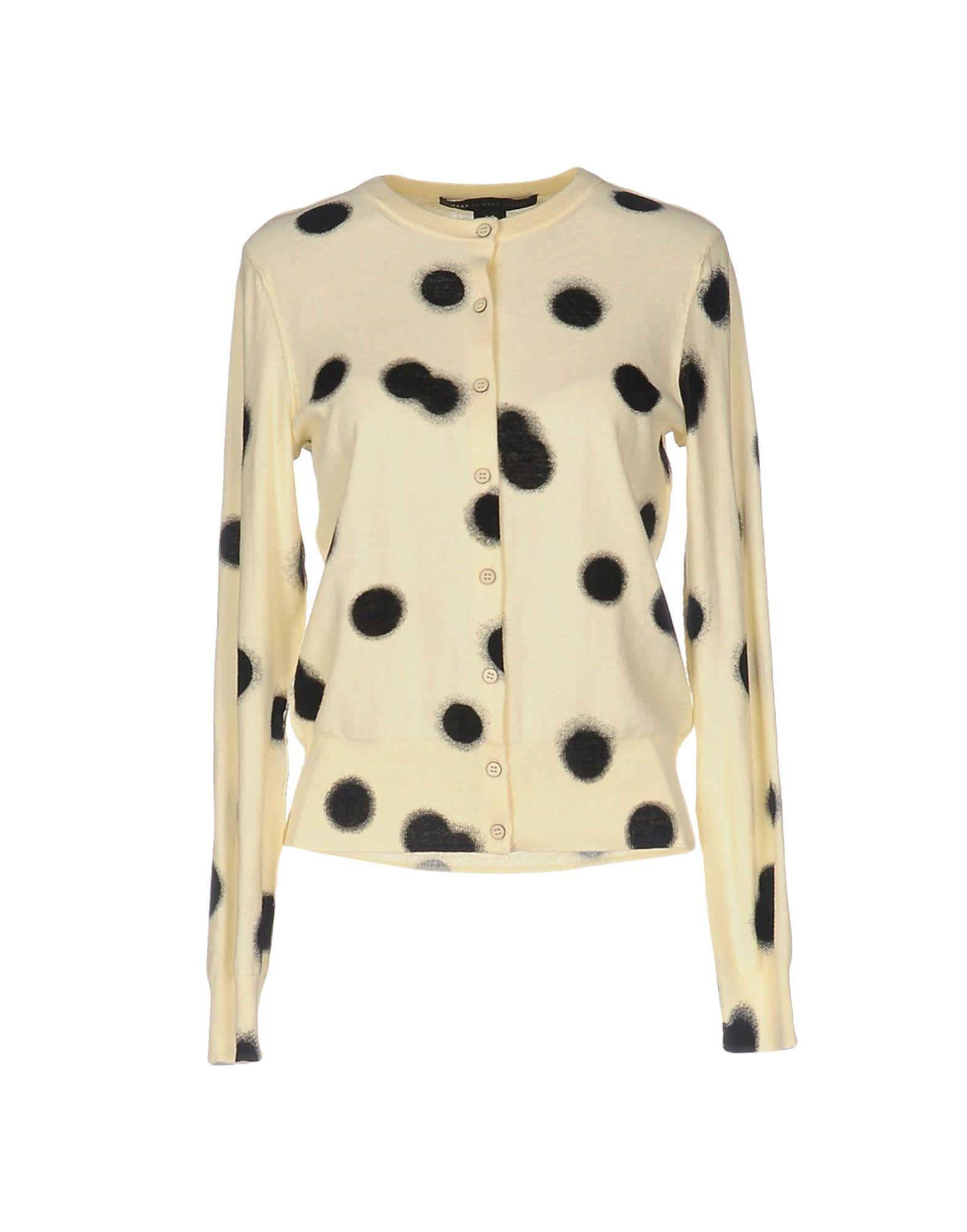 Marc By Marc Jacobs Cardigan In Yellow