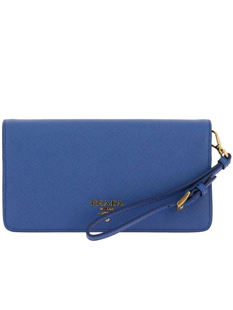 2abc3851b6aa Prada Mini Bag Mini Bag Women In Gnawed Blue | ModeSens