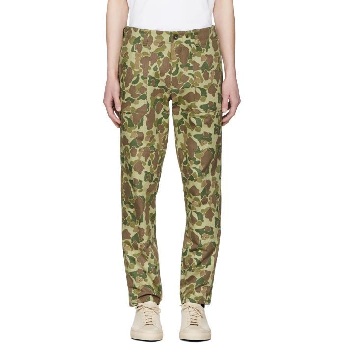 50ba84b8 Rag & Bone Rag And Bone Green Camo Field Trousers In 990 Camo | ModeSens