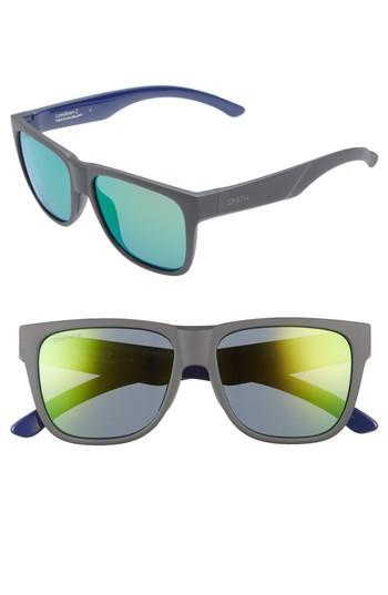 58398669af Smith Lowdown 2 55Mm Chromapop(Tm) Square Sunglasses - Matte Smoke ...