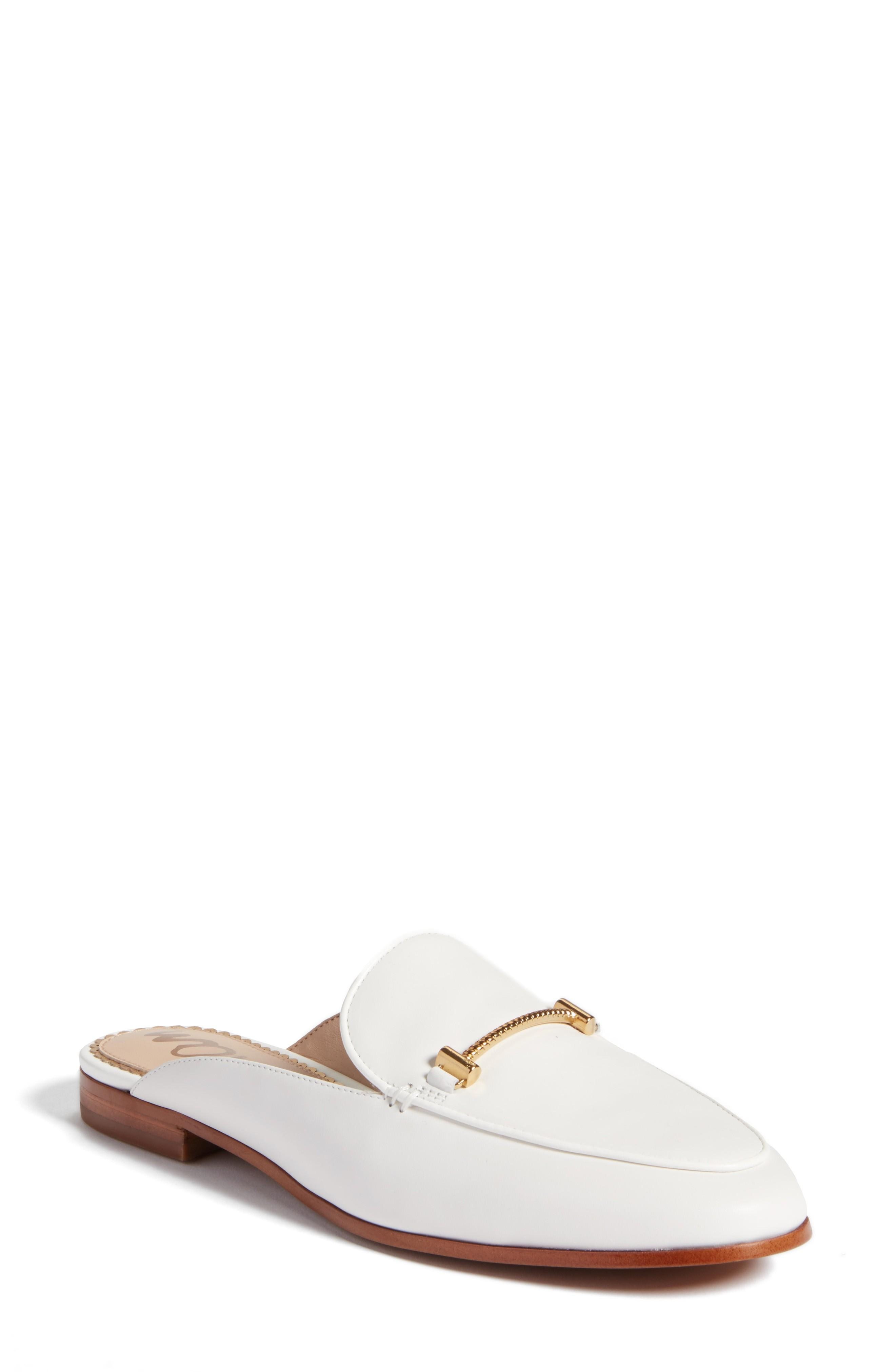 1eb71df242a Sam Edelman Laurna Mule In Bright White Leather