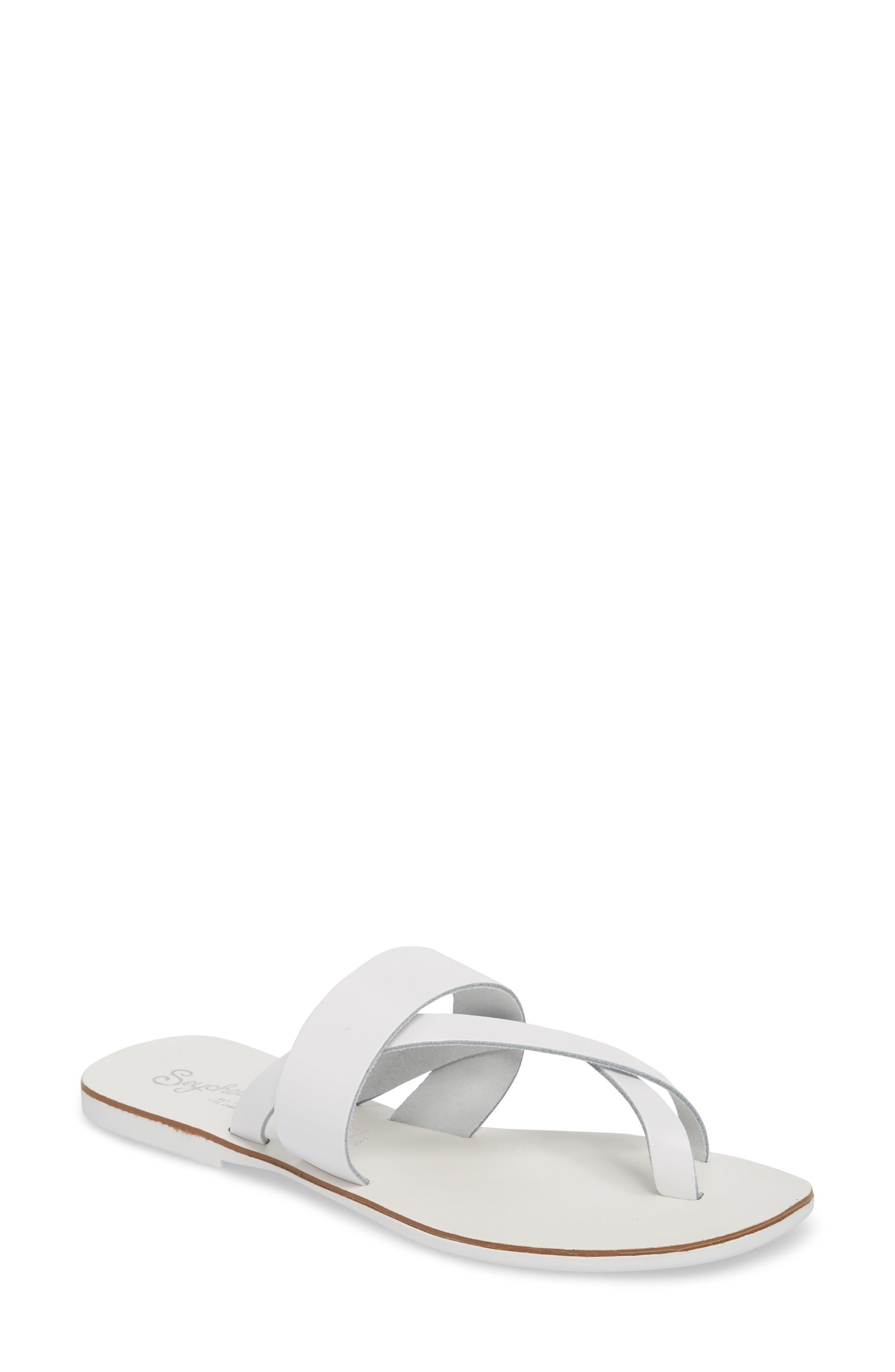 b5fe8505c8da Seychelles Destiny Thong Sandal In White Leather