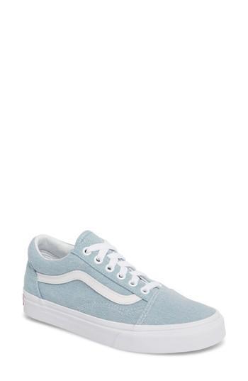 4498129c Old Skool Sneaker in Denim Baby Blue