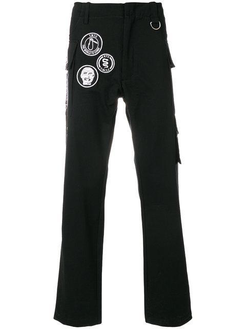 Ktz Scout Patch Trousers - Black