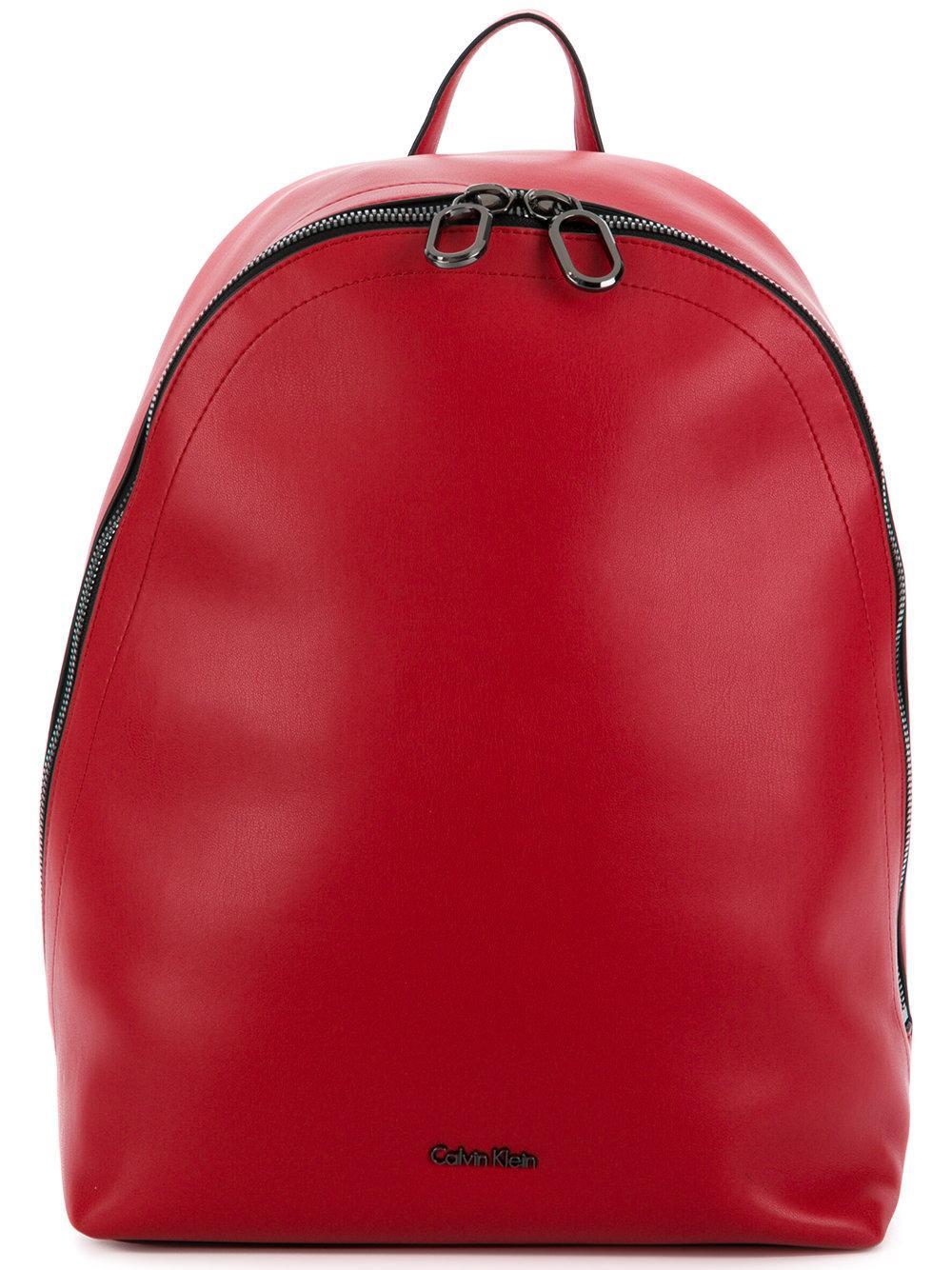 Calvin Klein 205W39Nyc Minimalist Backpack - Red