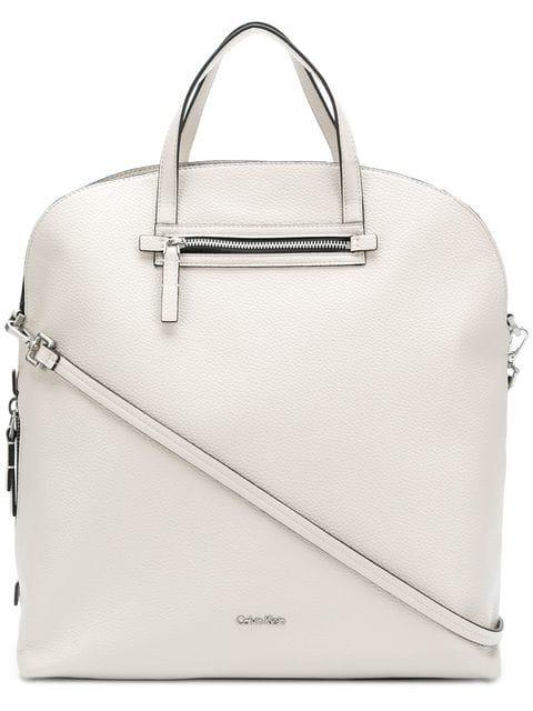 Calvin Klein 205W39Nyc Structured Tote Bag - White