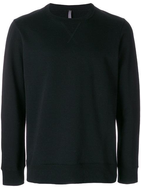 Attachment Black Cotton Sweatshirt