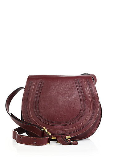 bd11d706376 ChloÉ 'Marcie - Medium' Leather Crossbody Bag In Dark Velvet | ModeSens