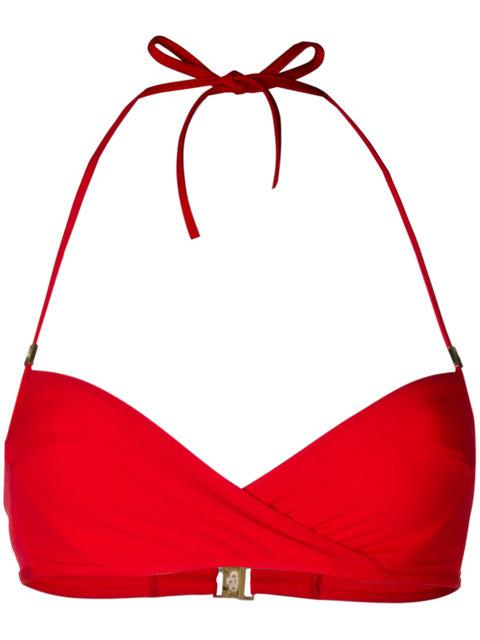 f8153556c2 La Perla Aquamarine Underwired Bandeau Bikini Bra In Red | ModeSens