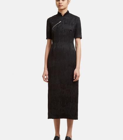 Yang Li Quipao Dress In Black