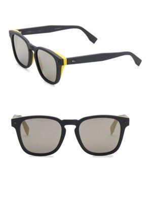 9fa85f79100 Fendi 52Mm Square Sunglasses In Grey