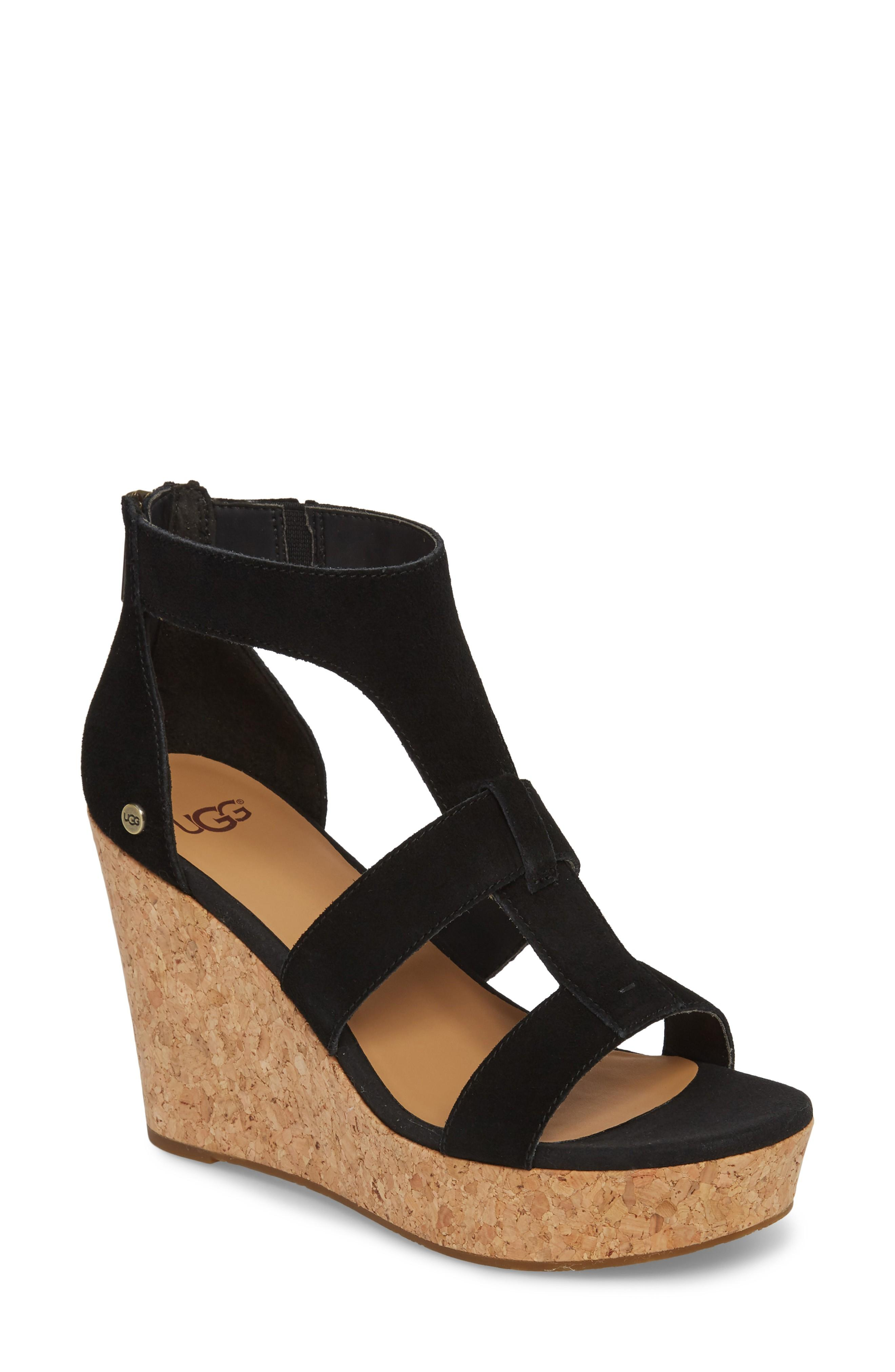 3bfa6c1d9c0 Take your casual-chic style to the next level with a strappy sandal set on  a lofty