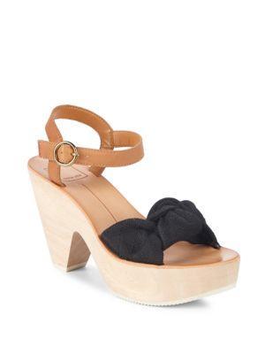 218c13036a3 Dolce Vita Shia Knotted Platform Sandal In Black Line