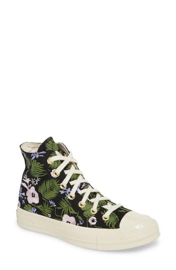 995ed36433ee6b Converse Chuck Taylor All Star 70 Palm Print High Top Sneaker In Black