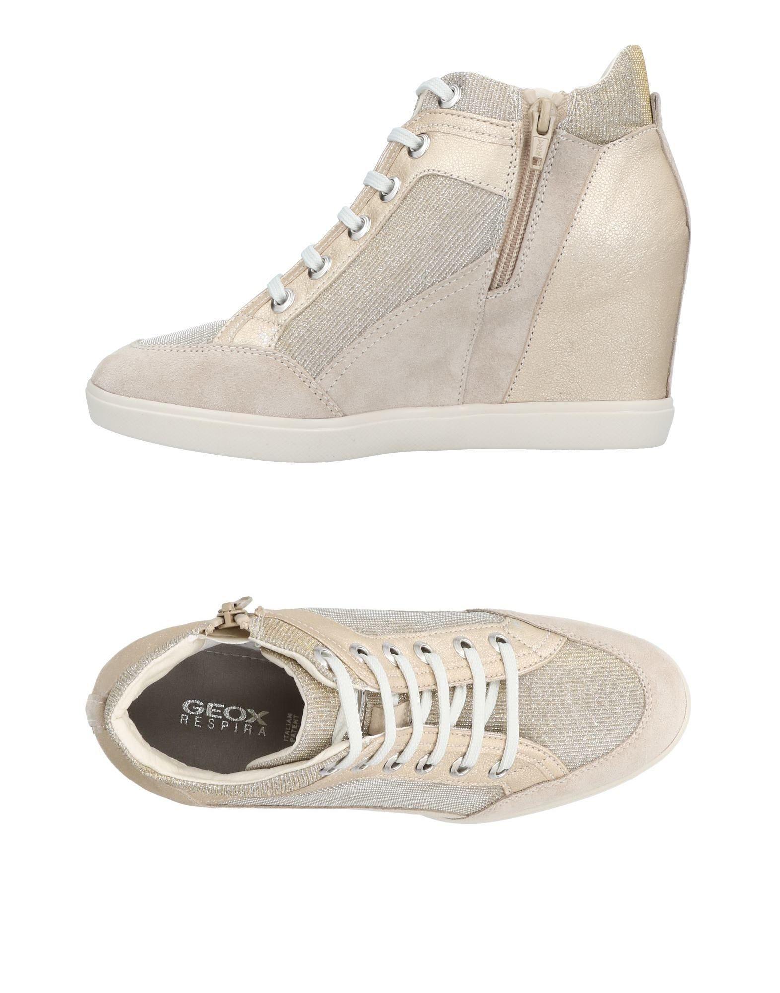 Geox Sneakers In Beige