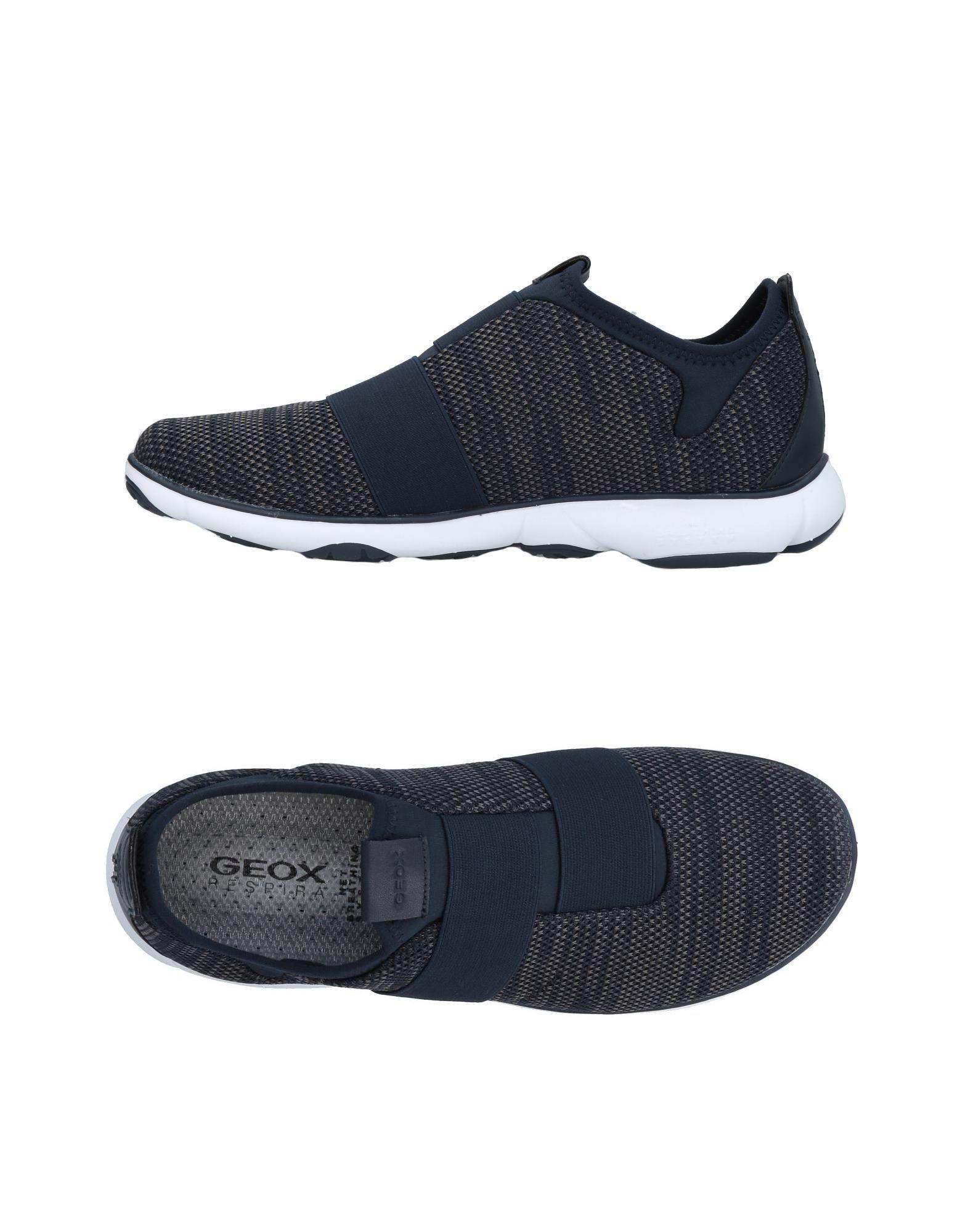 Geox Sneakers In Dark Blue