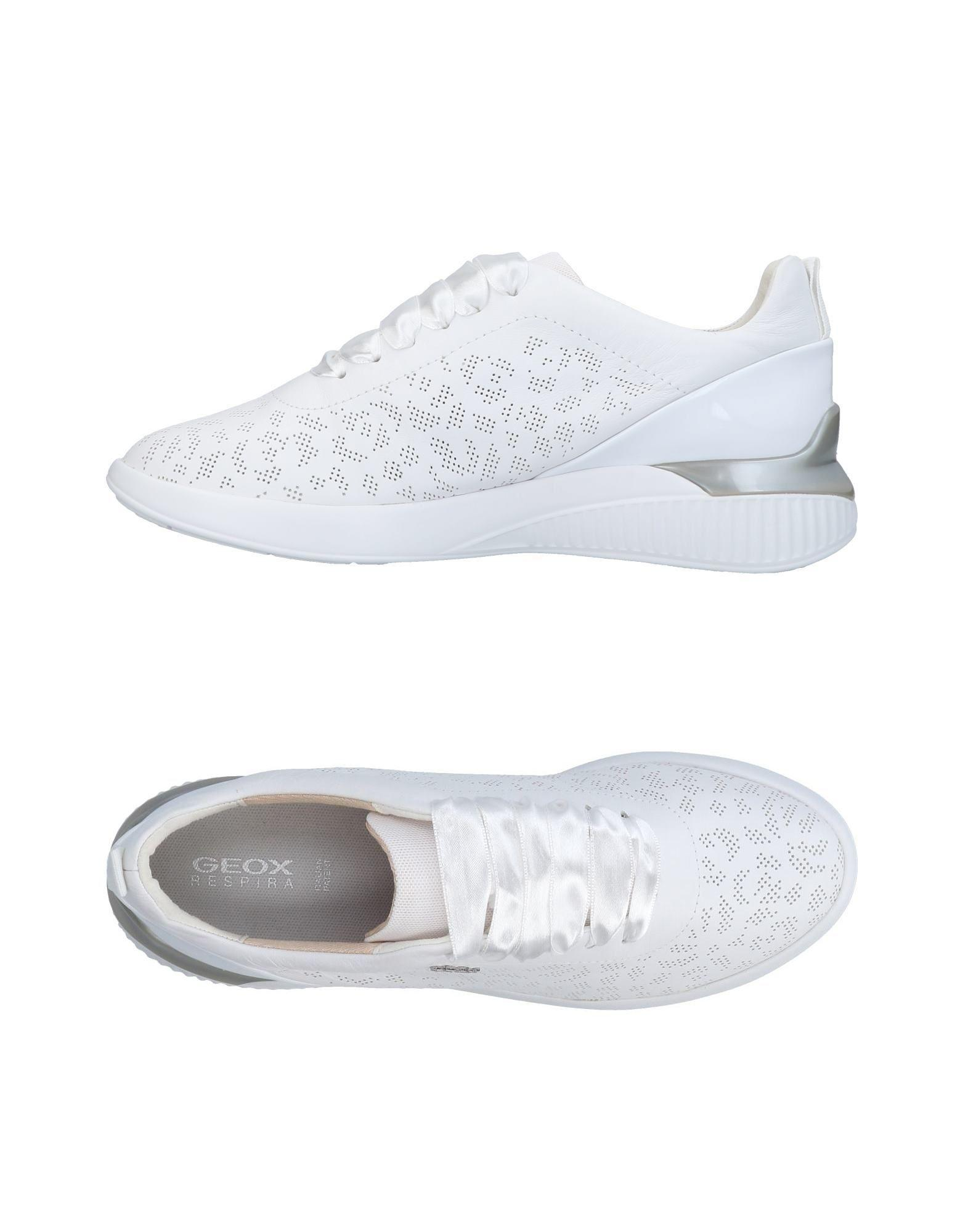 Geox Sneakers In White