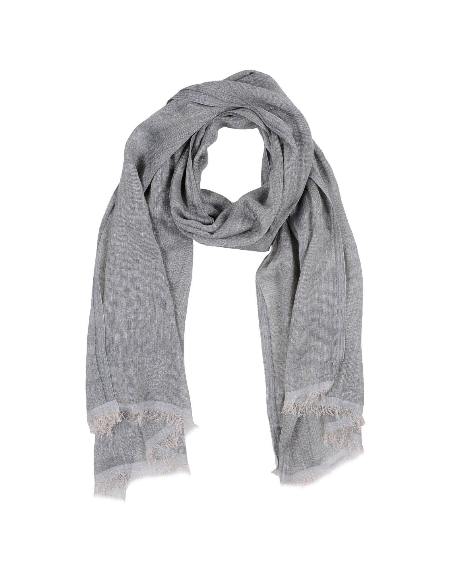 Eleventy Scarves In Grey
