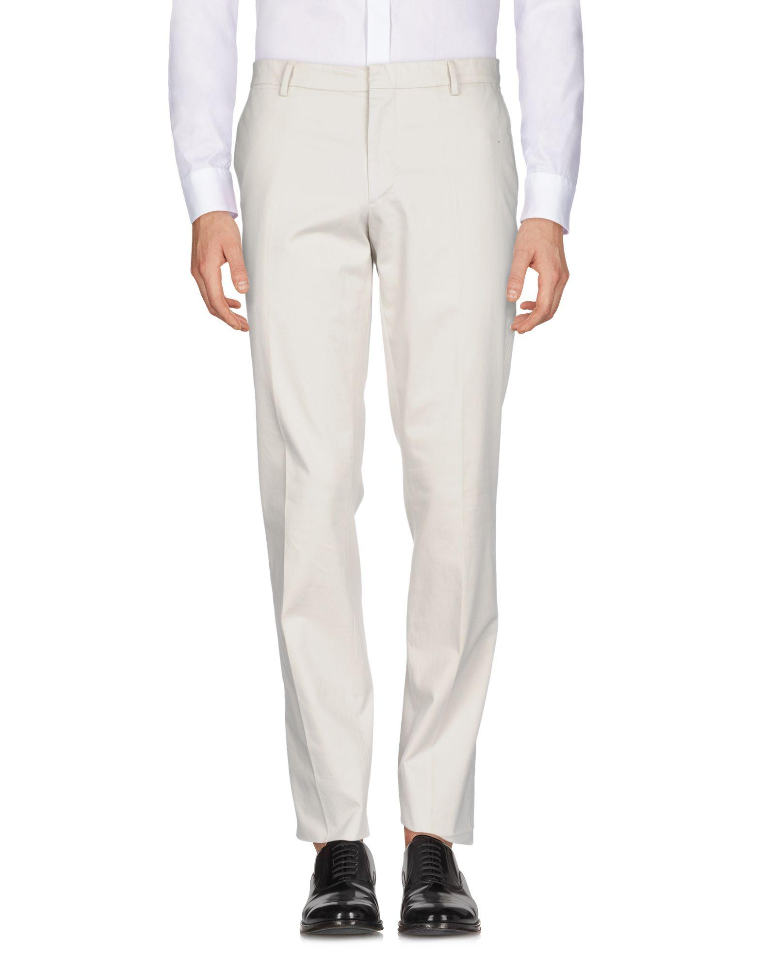 Burberry Casual Pants In Light Grey