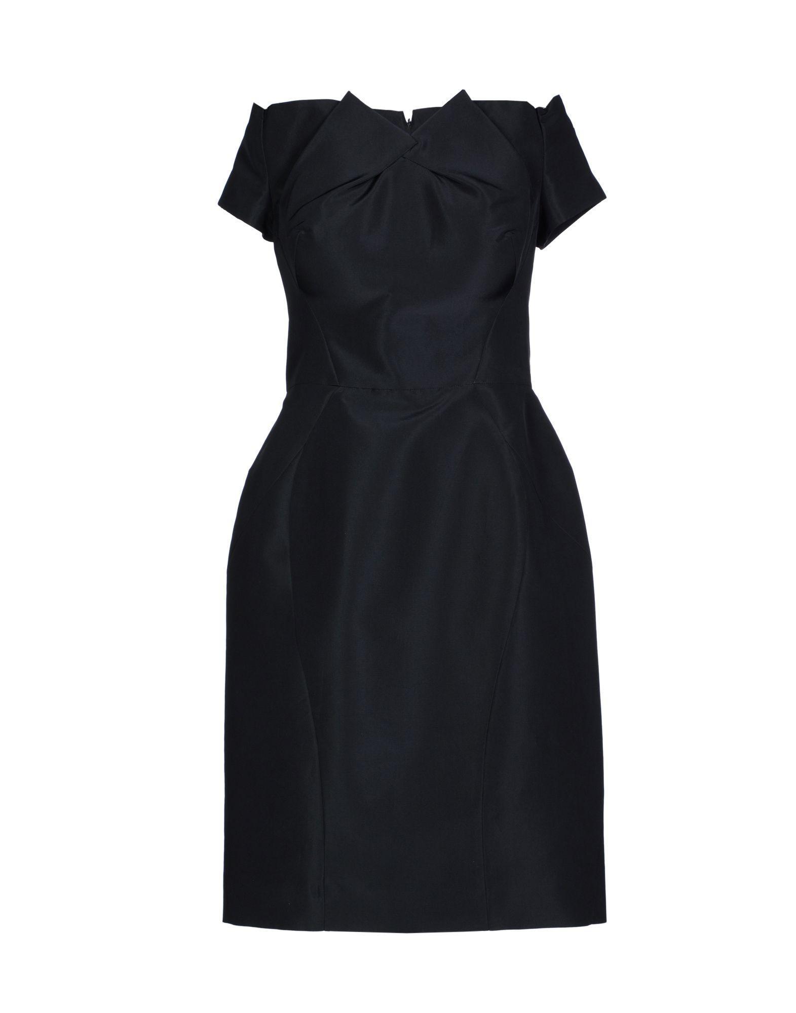 Zac Posen Knee-length Dress In Dark Blue
