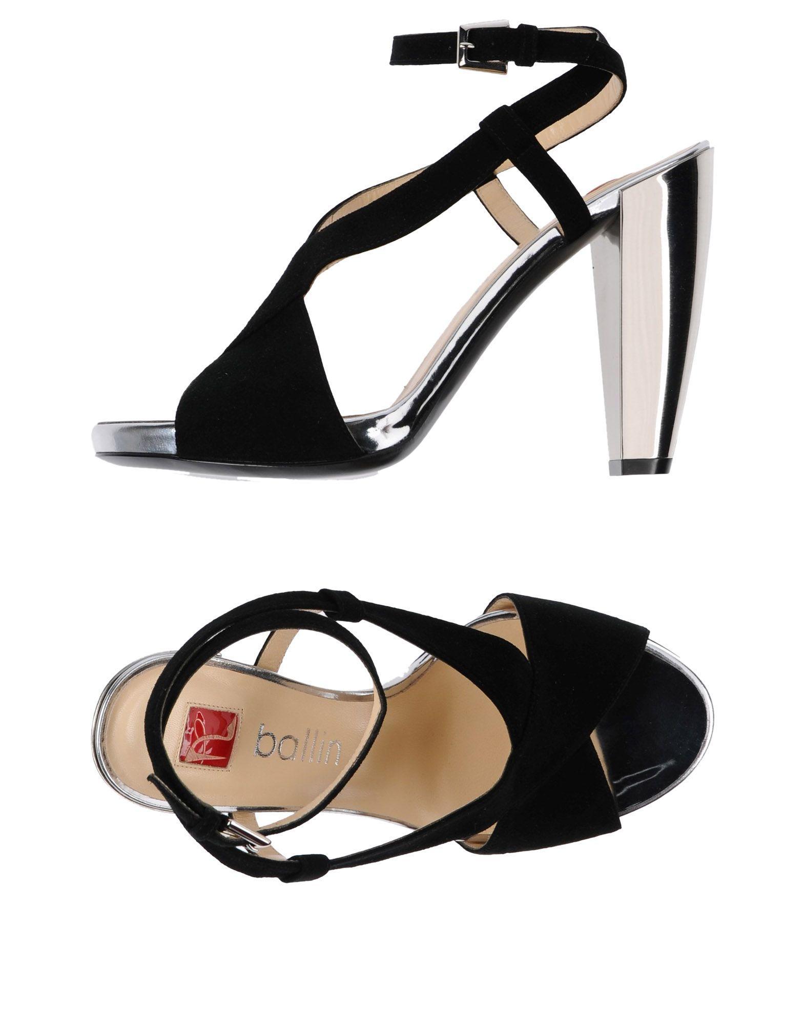 Ballin Sandals In Black
