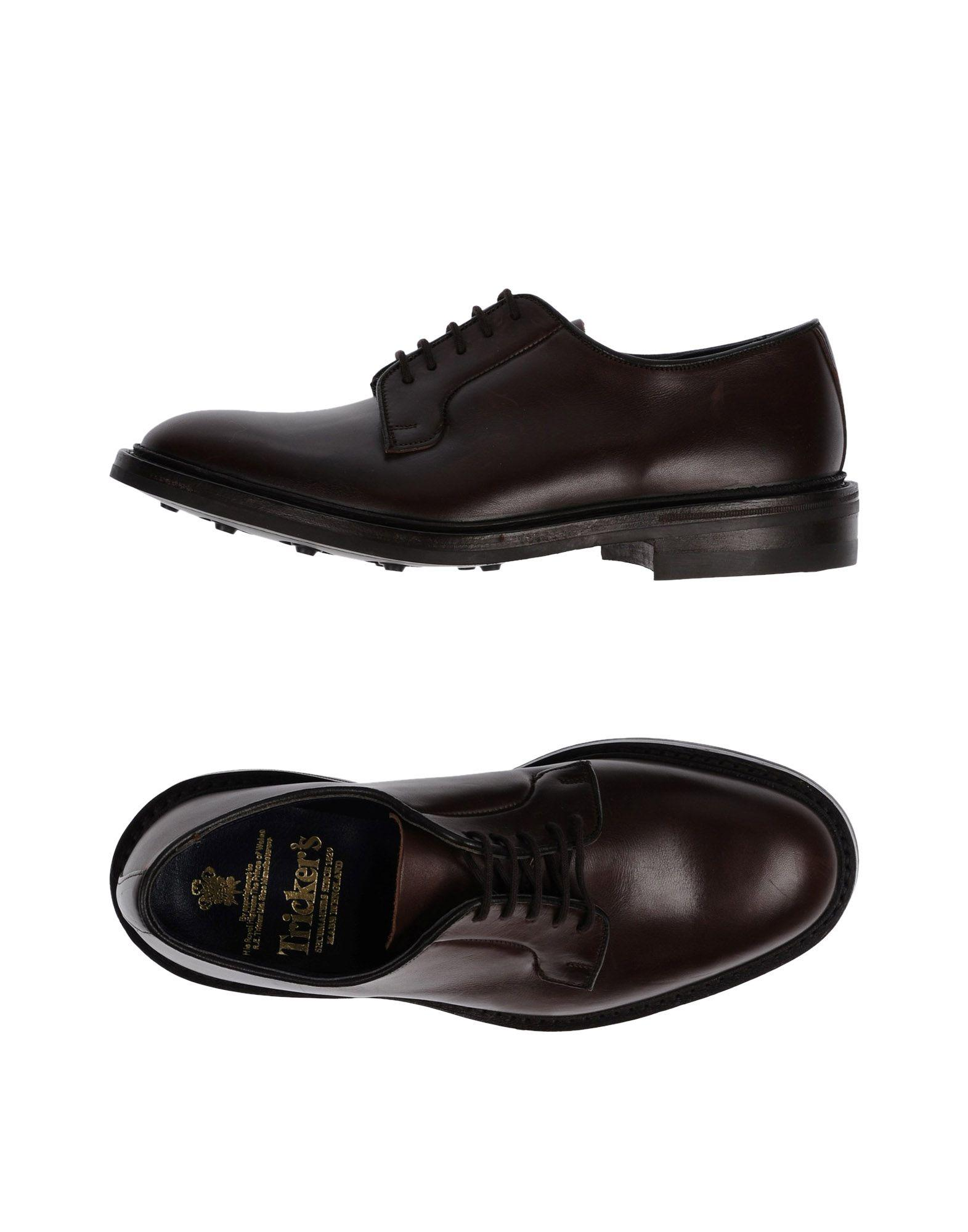 Tricker's Lace-up Shoes In Black