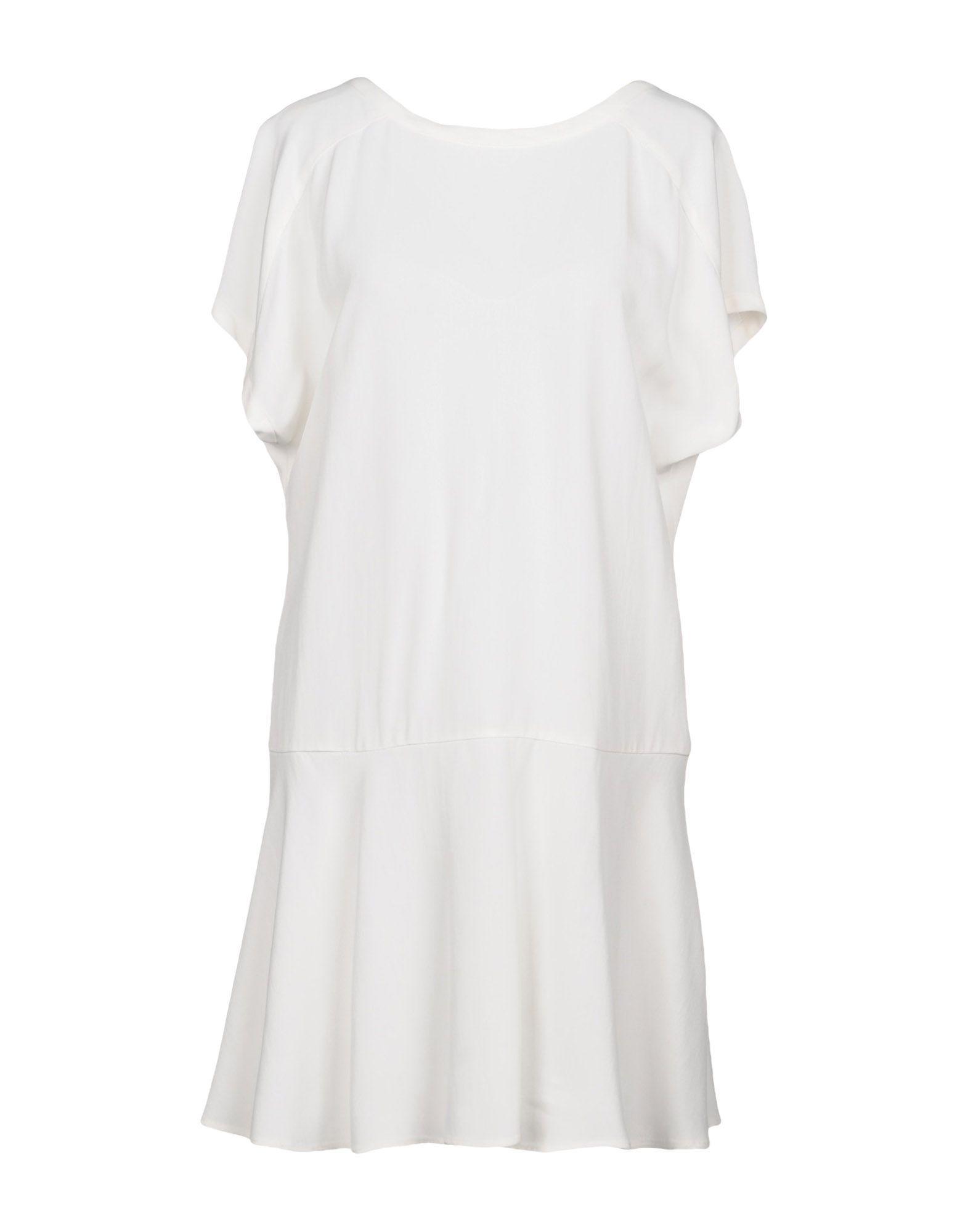Red Valentino Short Dress In White