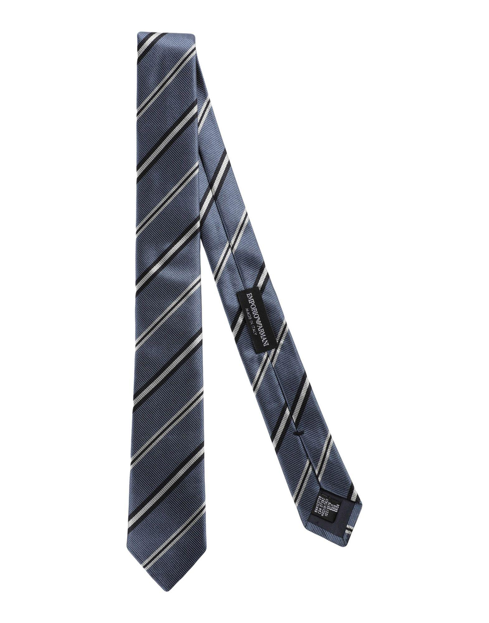 Emporio Armani Tie In Blue