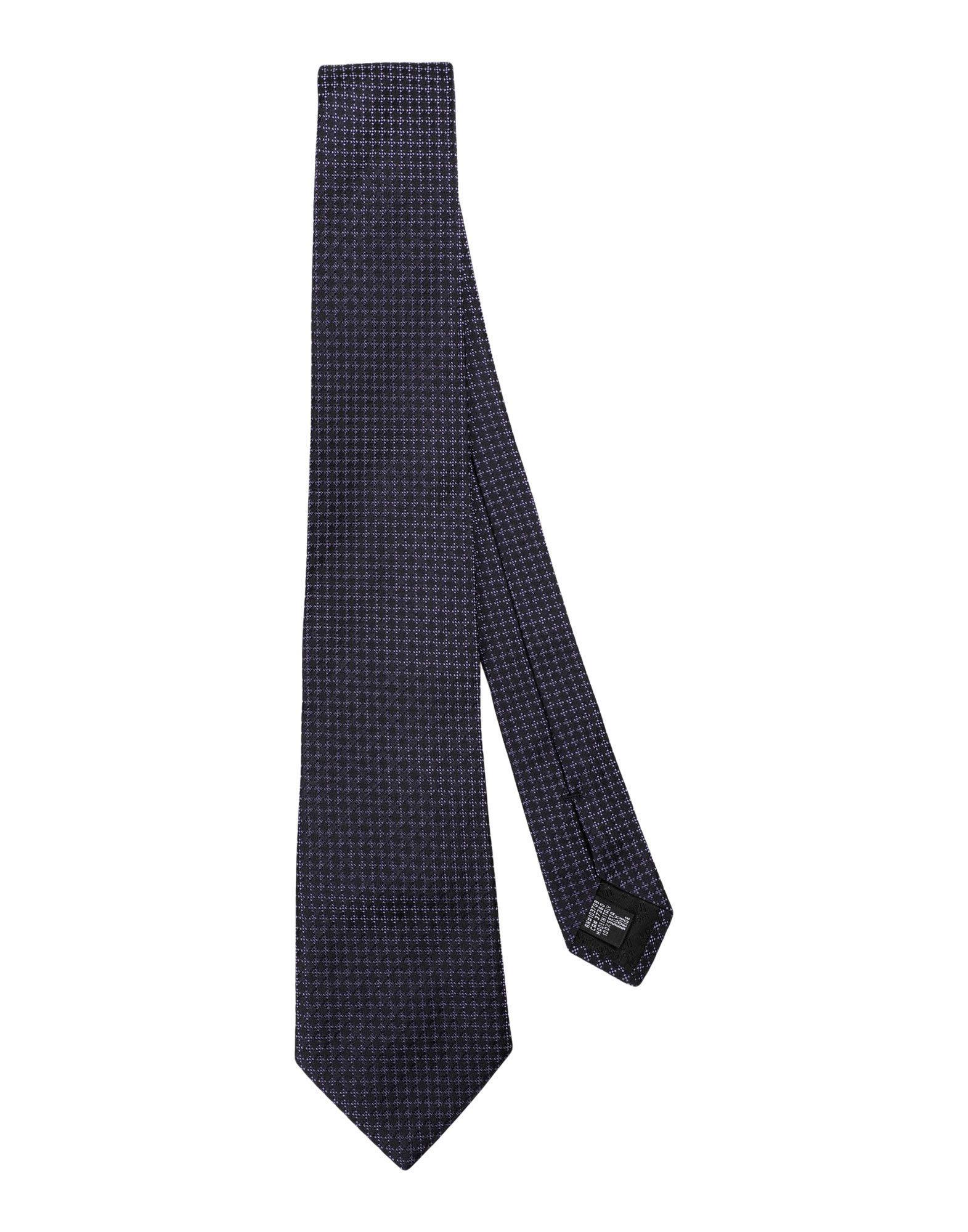 Armani Collezioni Tie In Dark Blue