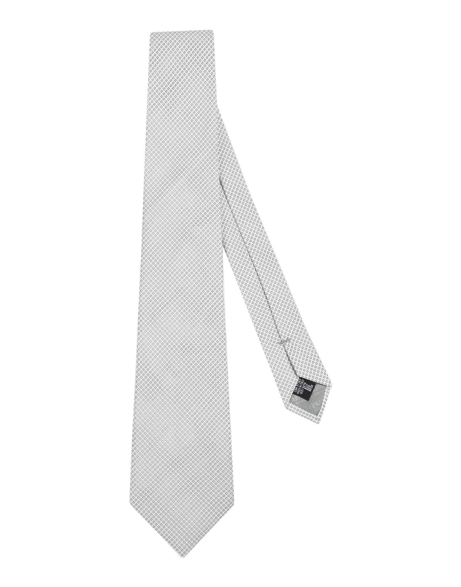 Armani Collezioni Ties In White