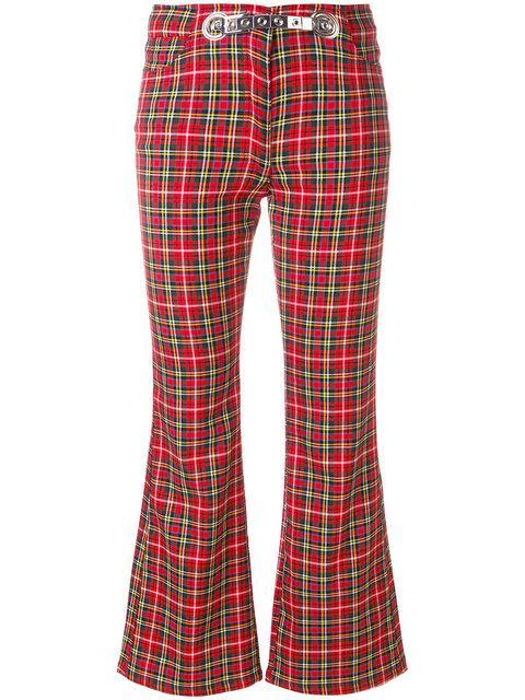 Miaou Morgan Plaid Trousers