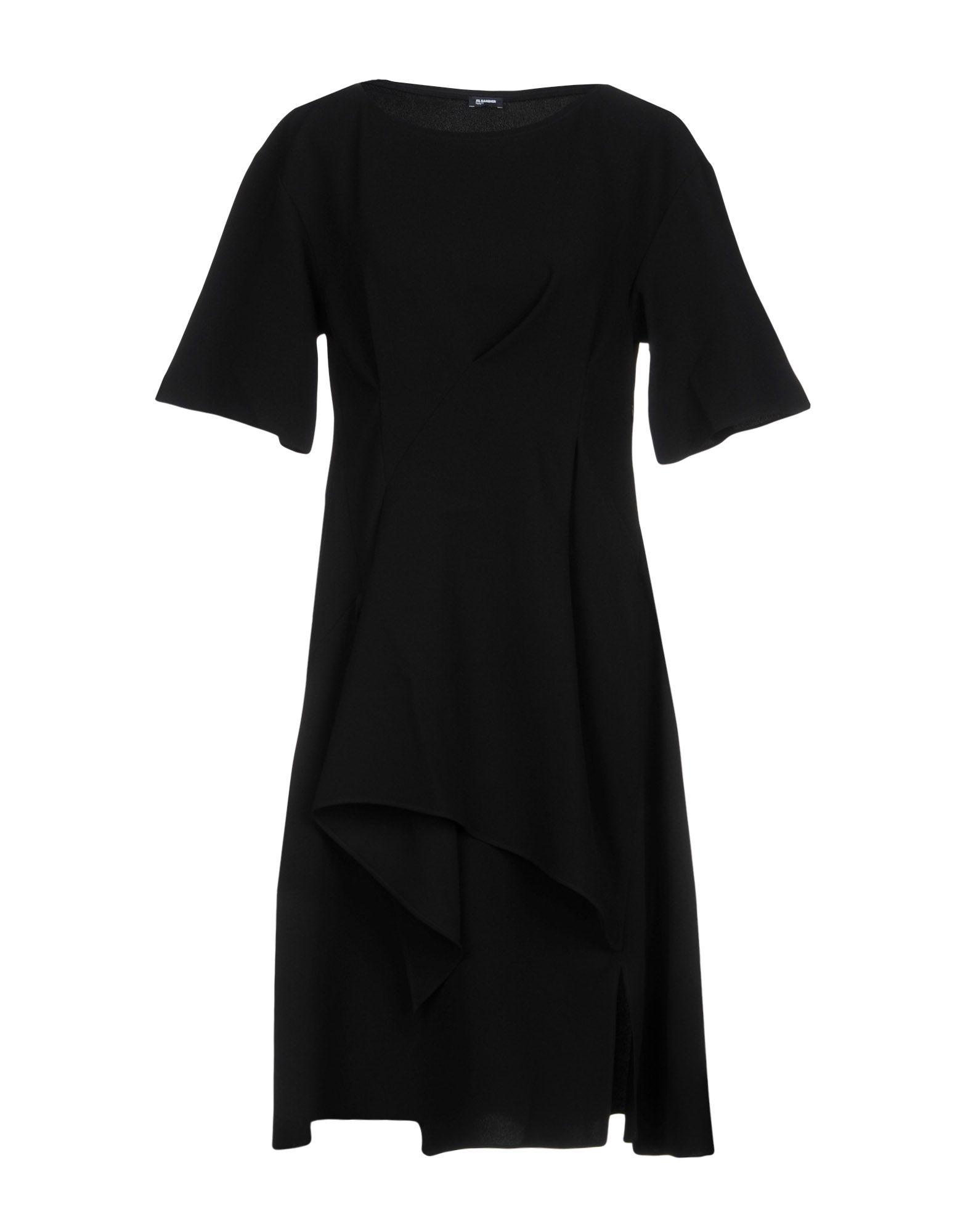 Jil Sander Knee-length Dresses In Black