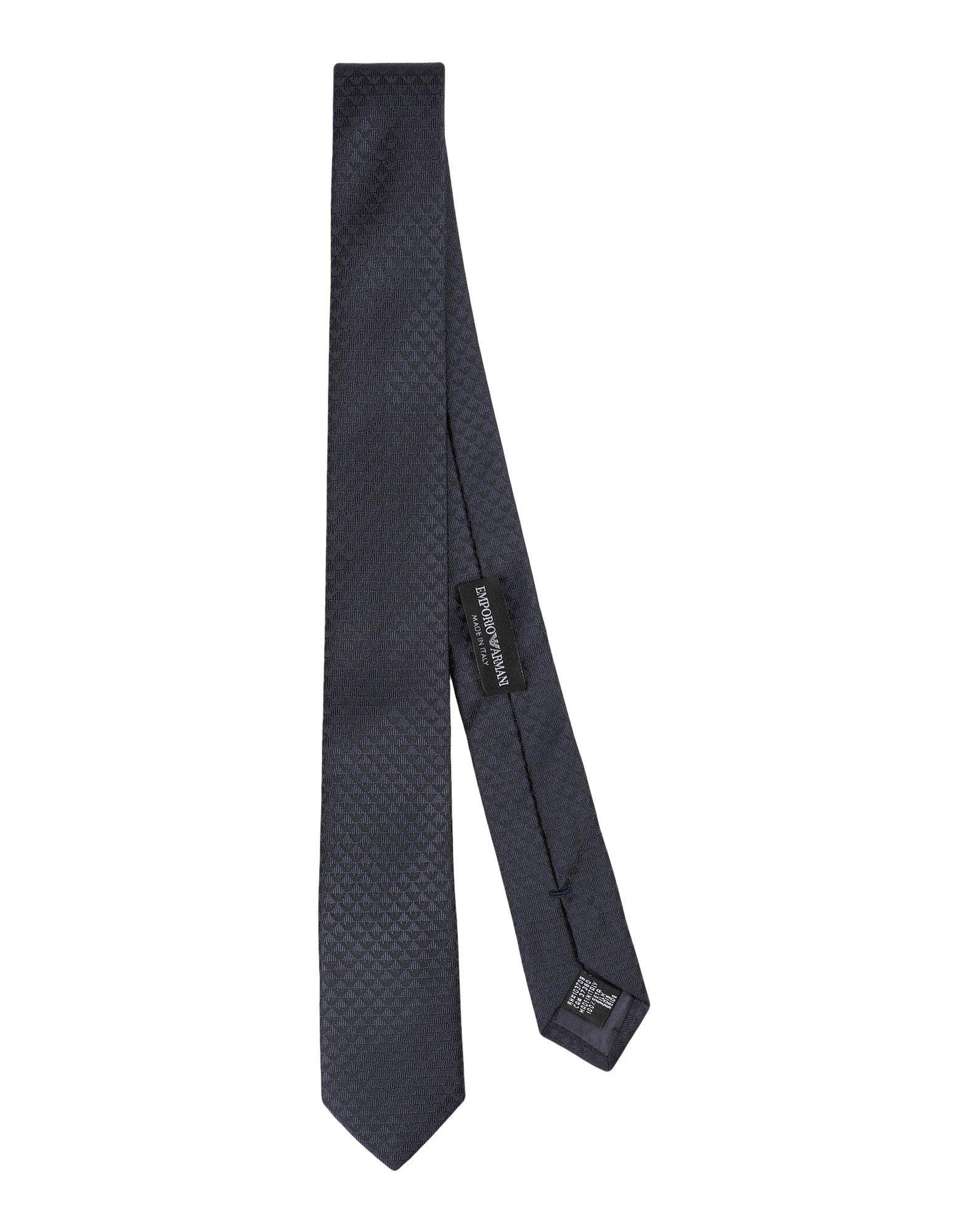 Emporio Armani Tie In Dark Blue