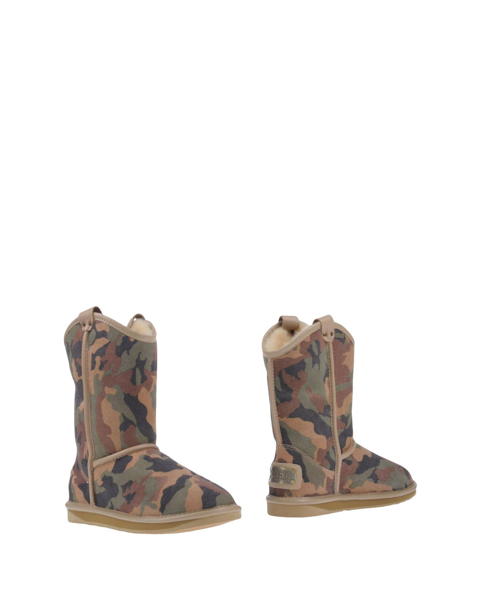 Australia Luxe Collective Ankle Boot In Military Green
