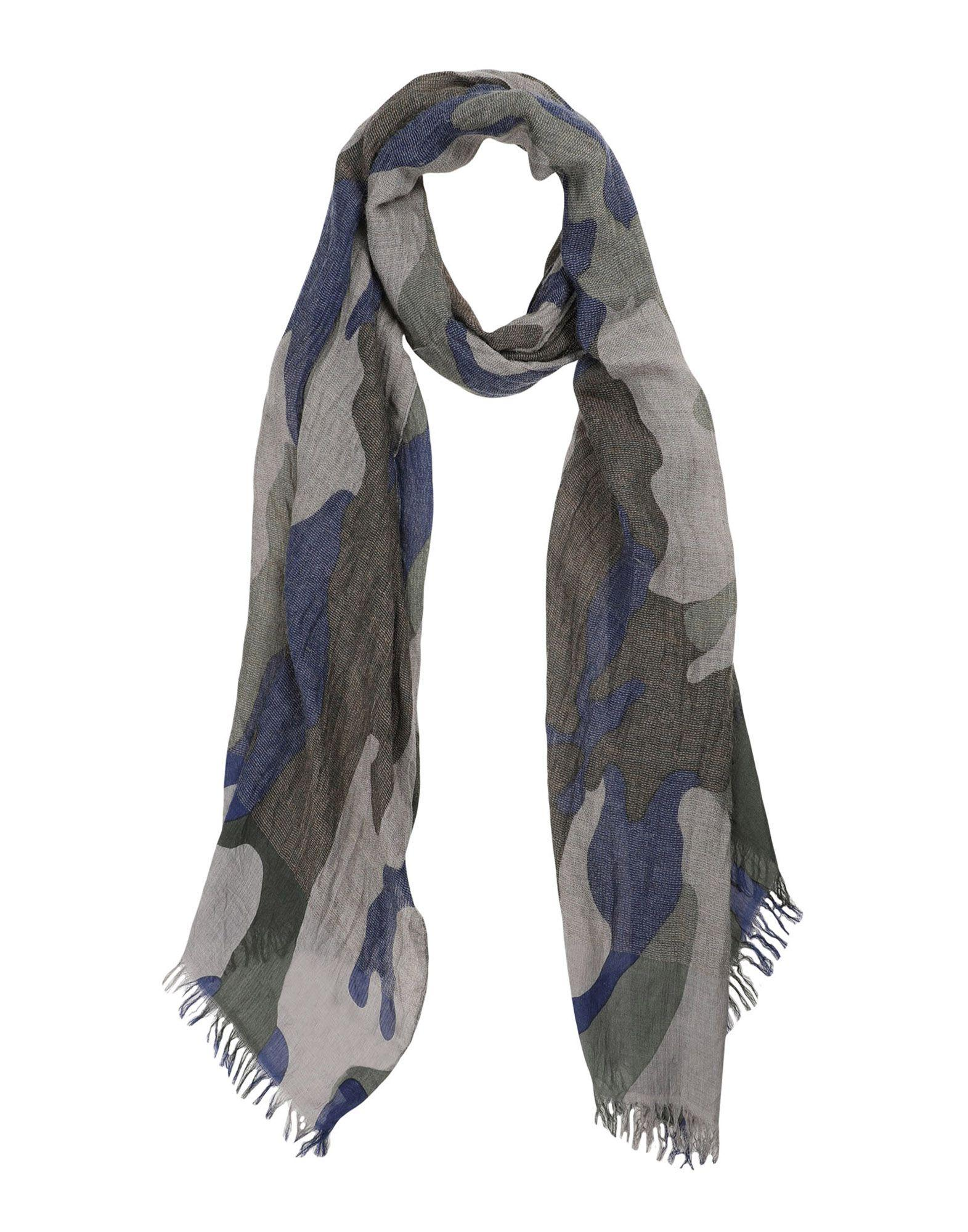 Emporio Armani Oblong Scarves In Military Green