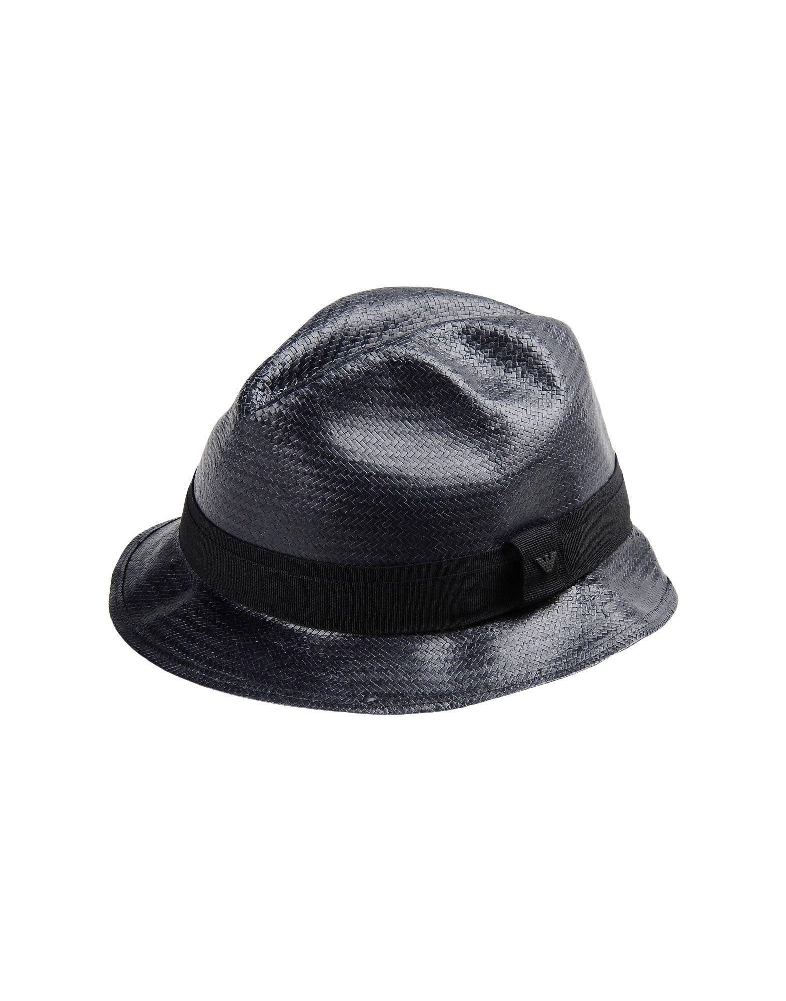 Emporio Armani Hat In Black