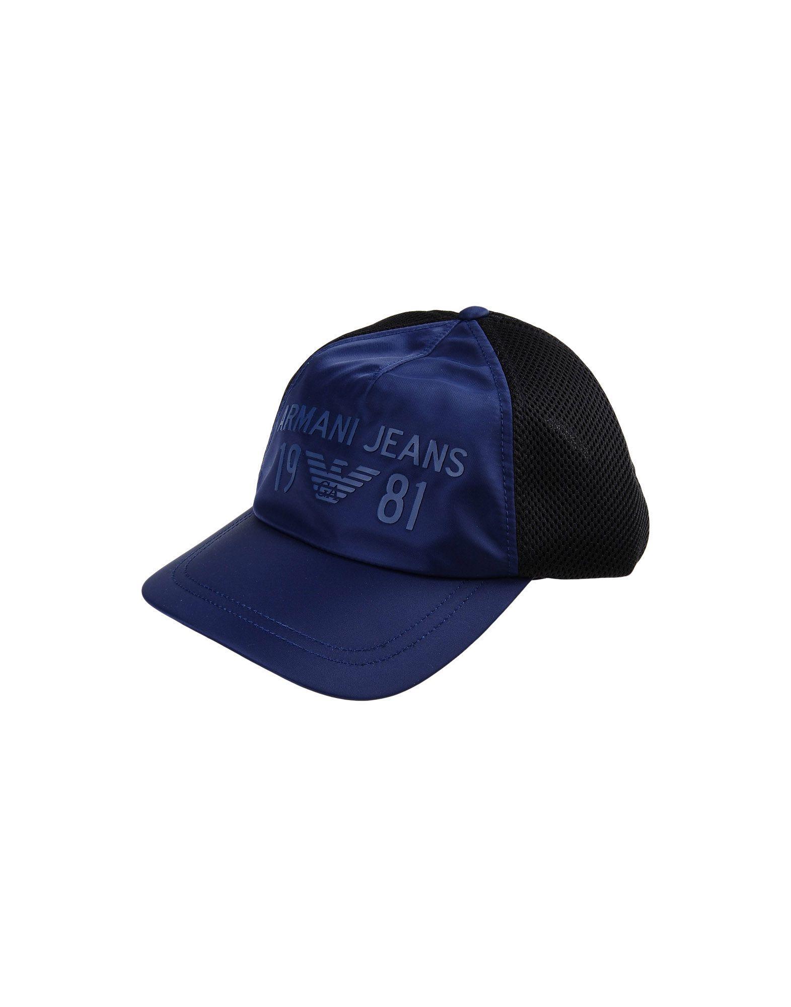 Armani Jeans Hats In Dark Blue