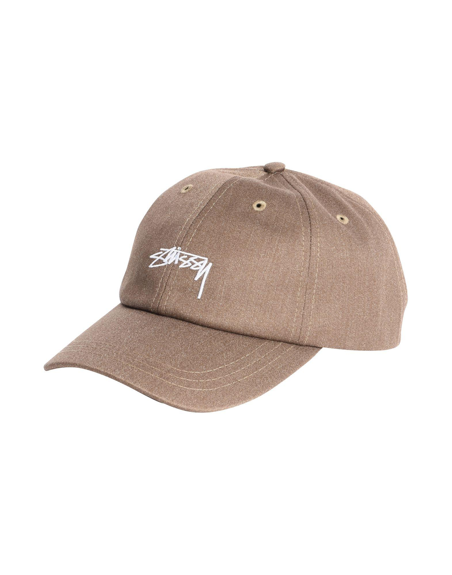 Stussy Hats In Khaki